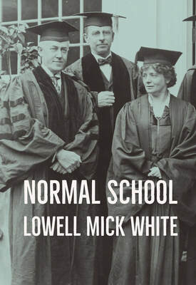 Normal School, Lowell Mick White, academia, higher education, Midwestern State, teaching, job interview, campus visit, noir, murder, novel