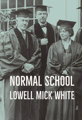 Normal School, Lowell Mick White, novel, reading, noir, wombat sex, murder, show trial, Stalinism
