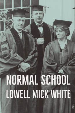Normal School, Lowell Mick White, academia, higher education, dick pic, death, murder, noir, reading, now, best novel about higher education